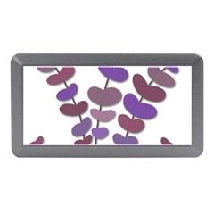 Purple decorative plant Memory Card Reader (Mini)
