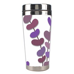 Purple decorative plant Stainless Steel Travel Tumblers