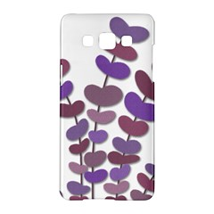 Purple decorative plant Samsung Galaxy A5 Hardshell Case