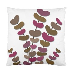 Magenta decorative plant Standard Cushion Case (One Side)