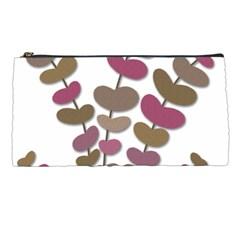 Magenta decorative plant Pencil Cases