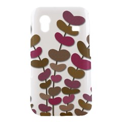 Magenta decorative plant Samsung Galaxy Ace S5830 Hardshell Case