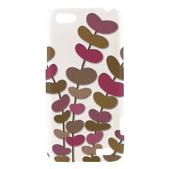 Magenta decorative plant HTC One V Hardshell Case