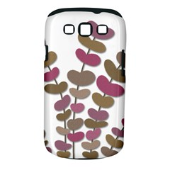 Magenta decorative plant Samsung Galaxy S III Classic Hardshell Case (PC+Silicone)