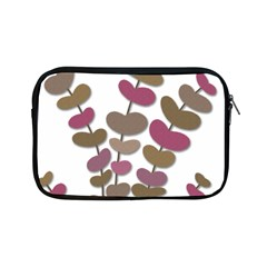Magenta decorative plant Apple iPad Mini Zipper Cases