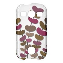 Magenta decorative plant Samsung Galaxy S7710 Xcover 2 Hardshell Case