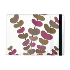 Magenta decorative plant iPad Mini 2 Flip Cases