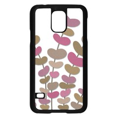 Magenta decorative plant Samsung Galaxy S5 Case (Black)