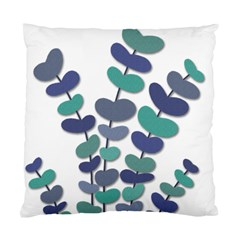 Blue decorative plant Standard Cushion Case (One Side)