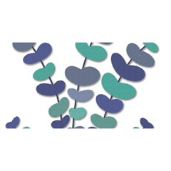 Blue decorative plant YOU ARE INVITED 3D Greeting Card (8x4)