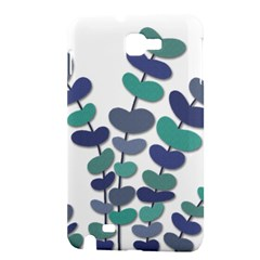 Blue decorative plant Samsung Galaxy Note 1 Hardshell Case