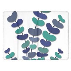 Blue decorative plant Kindle Fire (1st Gen) Flip Case