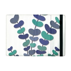 Blue decorative plant Apple iPad Mini Flip Case