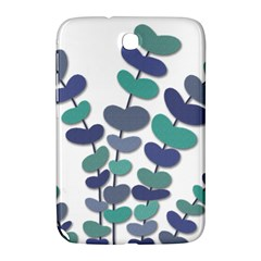Blue decorative plant Samsung Galaxy Note 8.0 N5100 Hardshell Case