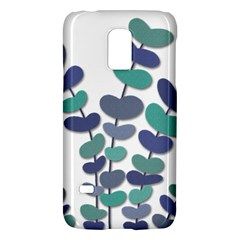 Blue decorative plant Galaxy S5 Mini