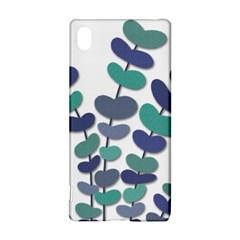 Blue decorative plant Sony Xperia Z3+