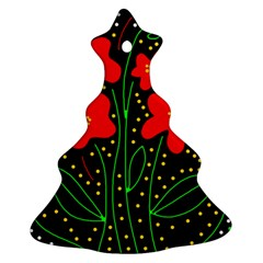 Red flowers Ornament (Christmas Tree)