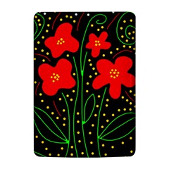 Red flowers Kindle 4