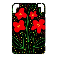 Red flowers Kindle 3 Keyboard 3G