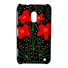 Red flowers Nokia Lumia 620