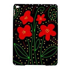 Red flowers iPad Air 2 Hardshell Cases