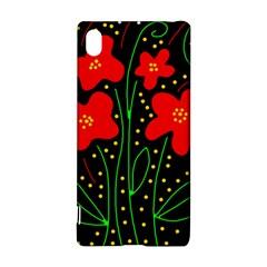 Red flowers Sony Xperia Z3+