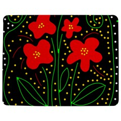 Red flowers Jigsaw Puzzle Photo Stand (Rectangular)
