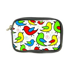 Colorful cute birds pattern Coin Purse