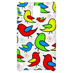 Colorful cute birds pattern Samsung Infuse 4G Hardshell Case