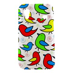 Colorful cute birds pattern Samsung Galaxy Ace S5830 Hardshell Case
