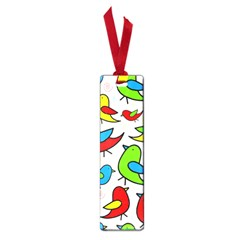 Colorful cute birds pattern Small Book Marks