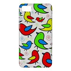 Colorful cute birds pattern BlackBerry Z10