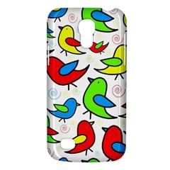 Colorful cute birds pattern Galaxy S4 Mini