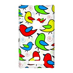 Colorful cute birds pattern Nokia Lumia 925