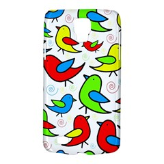 Colorful cute birds pattern Galaxy S4 Active