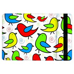Colorful cute birds pattern iPad Air Flip