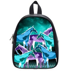 Horses Under A Galaxy School Bag (small)