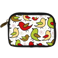 Decorative birds pattern Digital Camera Cases