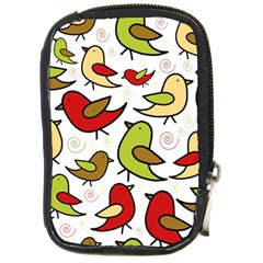 Decorative birds pattern Compact Camera Cases