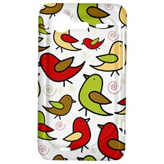 Decorative birds pattern HTC Incredible S Hardshell Case
