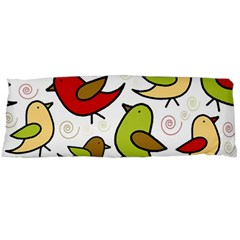 Decorative birds pattern Body Pillow Case Dakimakura (Two Sides)