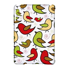 Decorative birds pattern Apple iPad Mini Hardshell Case (Compatible with Smart Cover)