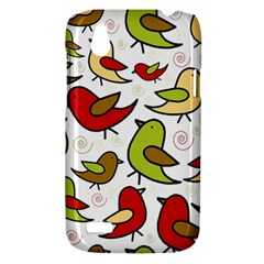 Decorative birds pattern HTC Desire V (T328W) Hardshell Case