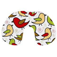 Decorative birds pattern Travel Neck Pillows