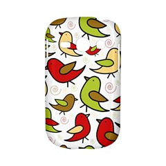 Decorative birds pattern Samsung Galaxy S6810 Hardshell Case