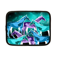 Horses Under A Galaxy Netbook Sleeve (small)