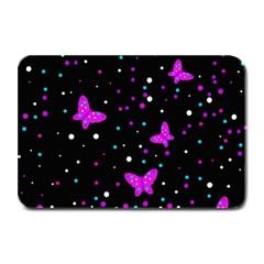 Pink butterflies  Plate Mats