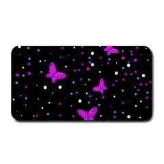 Pink butterflies  Medium Bar Mats