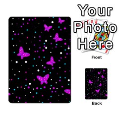 Pink butterflies  Multi-purpose Cards (Rectangle)
