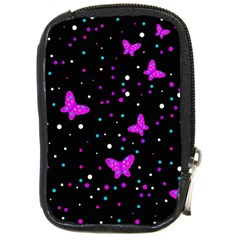 Pink butterflies  Compact Camera Cases